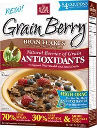Grain Berry Cereal,BRAN FLAKES, (The Silver Palate), 12 OZ (Pack of 6)