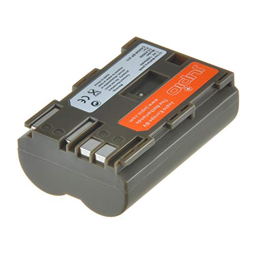 (Jupio Digital Camera Replacement Battery for Canon BP-511/511A/512, Grey (CCA0008))