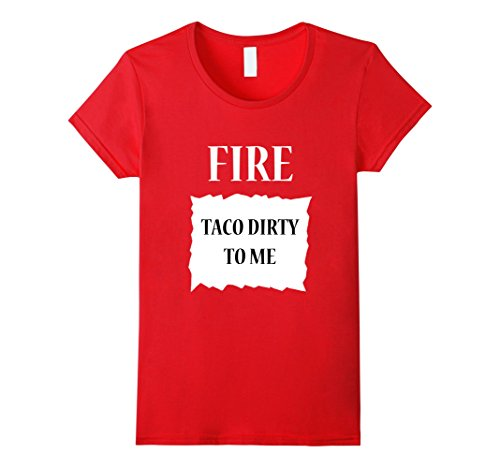 Womens Fire Hot Sauce Group Halloween Costume T-Shirt XL Red - Group Costumes For Halloween Ideas