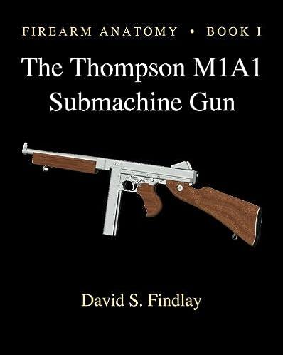 Thompson m1a1 manual ebook array amazon com firearm anatomy book i the thompson m1a1 submachine rh publicscrutiny Gallery