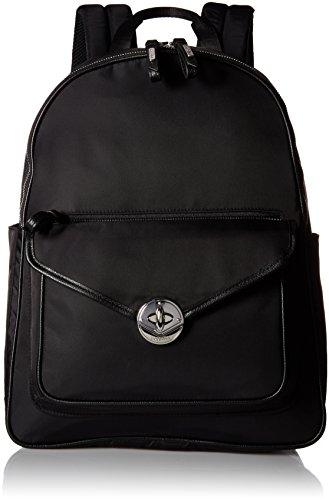 Granada Laptop Backpack Black Backpack, Black, One Size by Baggallini