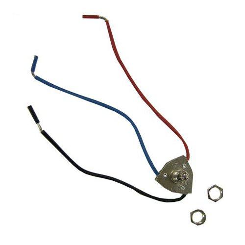 Sealed Unit Parts Push Button Switch - 3 Wire Unit Repair Part