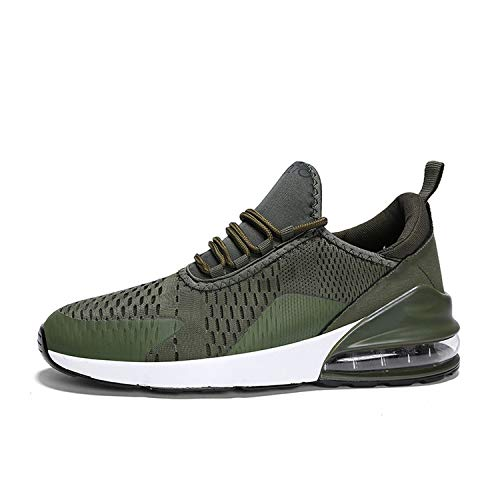 kai-da Running Shoes for Men Jogging Sneakers for Women Sole Breathable Outdoor Training Sport Shoes,Green,8.5]()