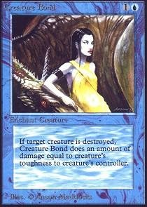 Magic: the Gathering - Creature Bond - (Beta Bond)
