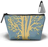 I Love Trees Multi-functional Trapezoidal Strorege Bag Travel Cosmetic Bag