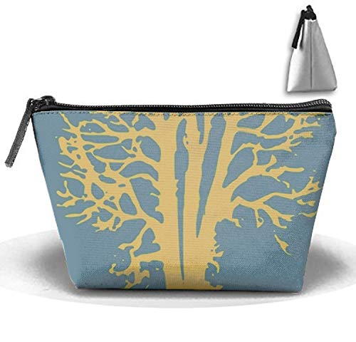 I Love Trees Multi-functional Trapezoidal Strorege Bag Travel Cosmetic Bag by COLG (Image #1)