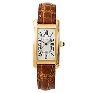 Cartier Tank Americaine Automatic-self-Wind Female Watch 1725 (Certified Pre-Owned)