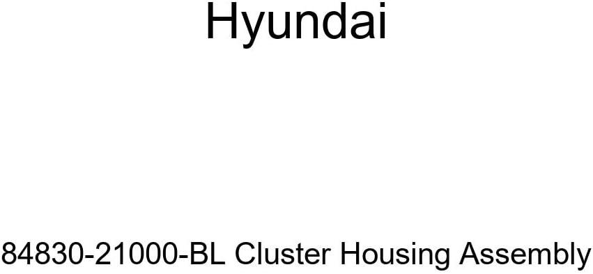 Genuine Hyundai 84830-21000-BL Cluster Housing Assembly