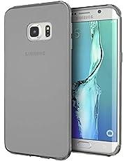 Zore 3405 Galaxy S7 Plus ile Uyumlu Kılıf, Ultra İnce Silikon Kapak, 0.2 mm, Füme