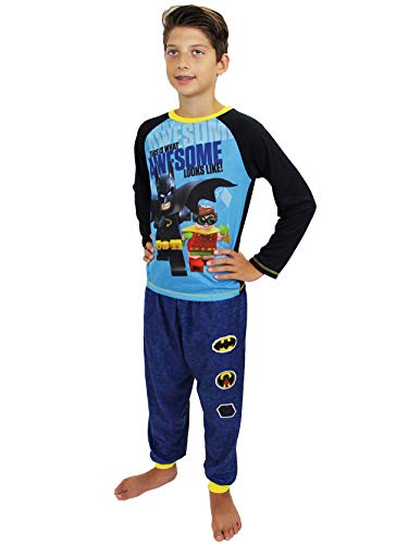 LEGO Boys' Batman 'This is What Awesome Looks Like' 2-Pc Pajama Sleep Set