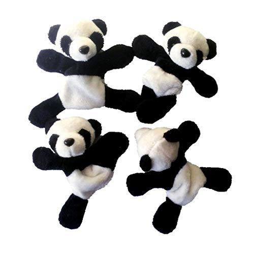 Home & Garden - Kitchen,Dining & Bar,Cute Soft Plush Panda Fridge Magnet Refrigerator Sticker Gift Souvenir Decor 4PC from Mjuan