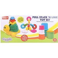 Funskool Giggles Pull Stack 'N Link Toy Set