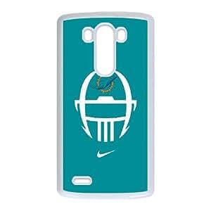 Miarei Dolphins LG G3 Cell Phone Case White O1649905
