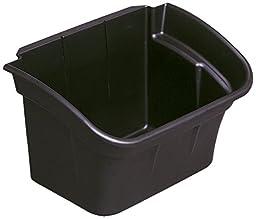 Commercial 335488BLA Utility Bin, 4gal, Black (RCP335488BLA)