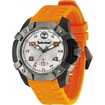 Timberland Herren-Armbanduhr XL Analog Quarz Silikon TBL.13326JPBU-04