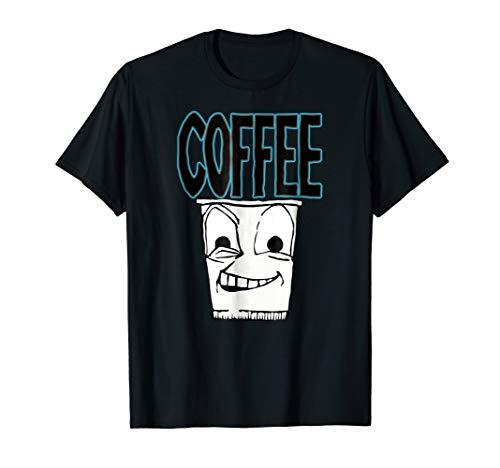 Hyper Coffee Drink Print Shirt Color