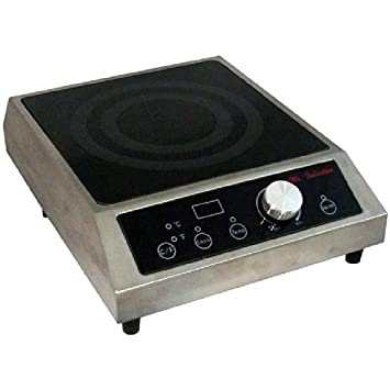 Mr. Induction SR-183C Countertop Commercial Range Induction Burner, 1800-watt