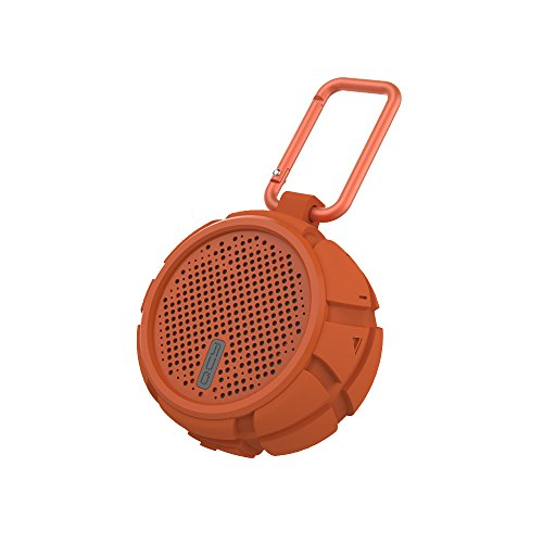 - Bluetooth Speaker Outdoor Portble Wireless Mini Speaker Waterproof Subwoofer Universal Car Cycling Hiking Bluetooth Speaker - Orange
