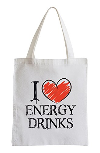 Amo Energy Drink Fun sacchetto di iuta