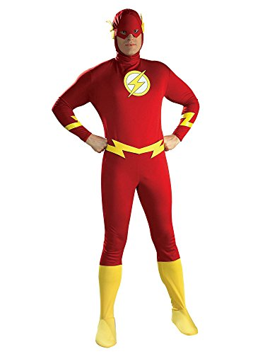 Rubie's Men's DC Comics The Flash Adult Costume, Red, Medium -