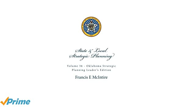Amazon com: State&Local Vol36 Okla homa Strategic Planning: Leader's