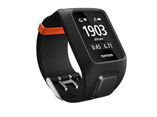 TomTom Adventurer GPS Hiking & Trail Running Watch + Heart Rate Monitor - Black