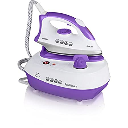 Swan SI12010N Pressurized Steam Station Iron - Multi Ironing system ...