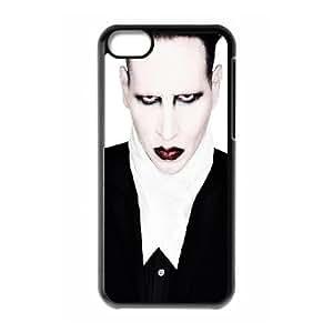 5c caso Marilyn Manson funda iPhone E7C76V4BS funda 67OSQS negro