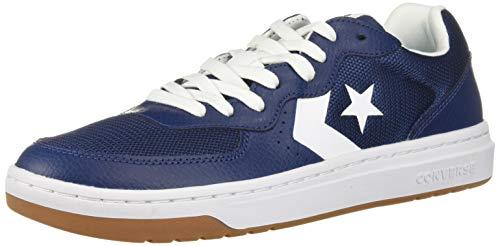 Converse Men's Unisex Rival Low Top Sneaker, Navy/White/Gum 8 M US