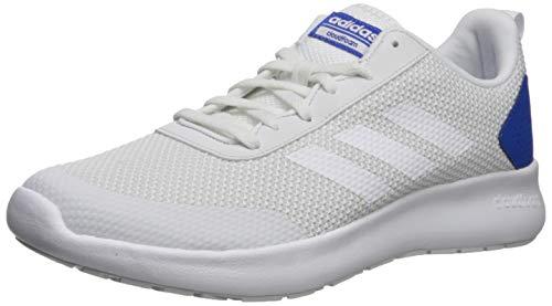 adidas Men's CF Element Race Running Shoe, Crystal White/Blue, 9 M US ()