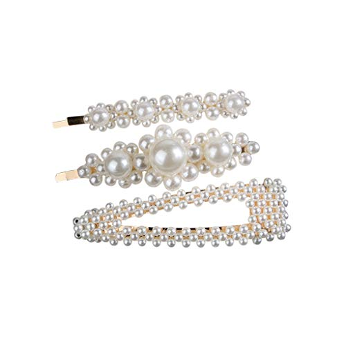 - Toponly Hair Barrettes Hair Clips Women -Hair Accessories Hair Pins for Girls Thick Hair Styling Fashion Jewelry Alloy Diamond-Studded Moon Star Pendant