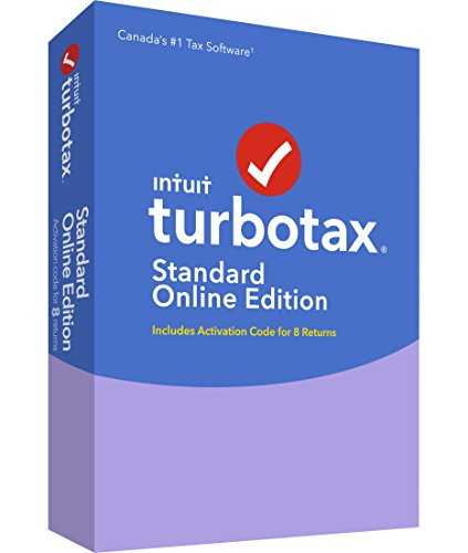 TurboTax |ImpotRapide Standard Online 8 Software 2016 (8 Users)