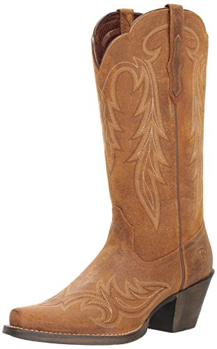 Ariat Women's Round up Renegade Work Boot, Old West Tan, 6.5 B US