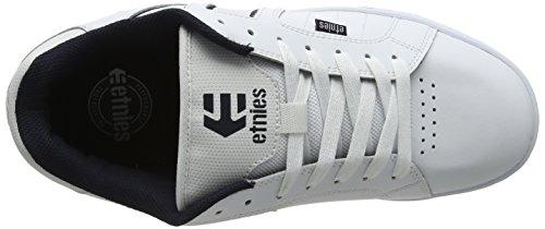 para Fader Skateboard Zapatillas Blanco Azul Etnies Marino 2 Hombre de f16nUXxv