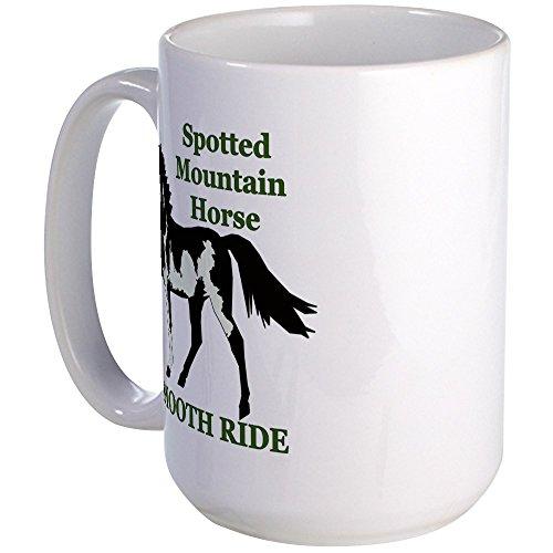 CafePress - SMH Smooth Ride Large Mug - Coffee Mug, Large 15 oz. White Coffee Cup
