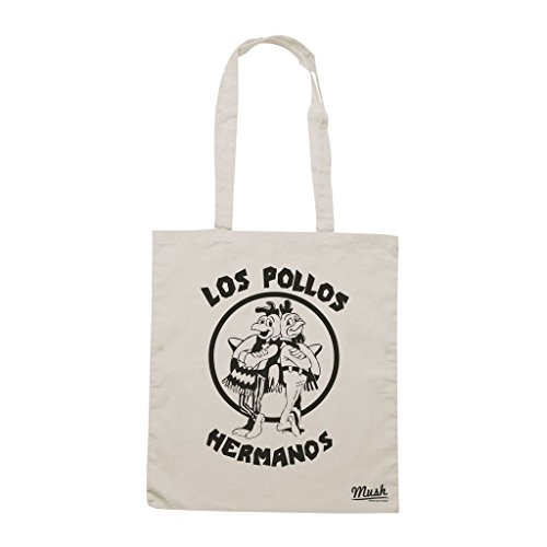 Barato Libre Del Envío Borsa Los Pollos Hermanos Breaking Bad Stencil - Panna - Film by Mush Dress Your Style Venta Eastbay rY2A4KI