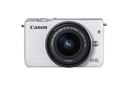 Canon EOS M10 Mirrorless Camera Kit with EF-M 15-45mm Image