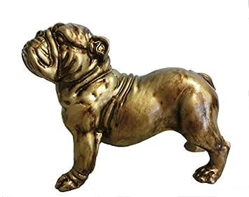 Bulldog statue figurine bulldog anglais chien prime presse papier