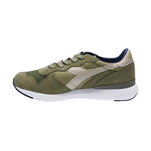 Diadora Heritage Men 171864 Sneakers In Poliestere Verde