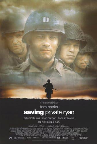 Saving Private Ryan wall art Movie posters print prints gift poster