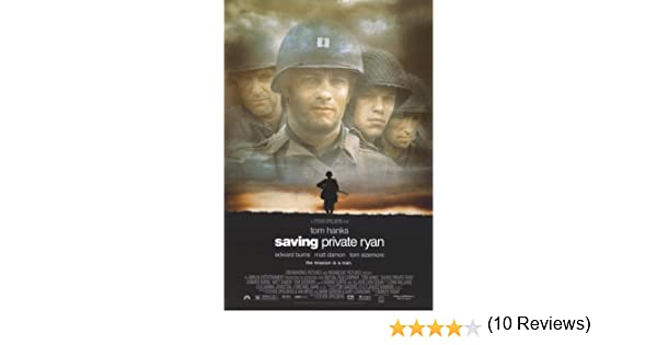 Amazon.com: Saving Private Ryan 27x40 Movie Poster: Prints ...