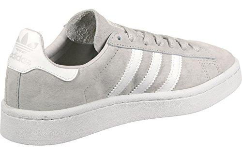 adidas Campus J, Zapatillas de Deporte Unisex Niños Gris (Griuno / Ftwbla / Ftwbla)