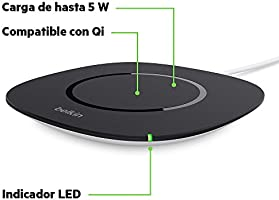 Belkin Boost Up - Base de carga inalámbrica universal Qi de ...