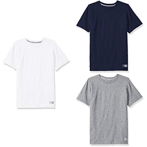 3c128d1c Russell Athletic Big Boys' Essential Short Sleeve Tee | חו״ל לישראל ...