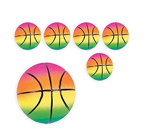 Mini Inflatable Rainbow Basketballs 5