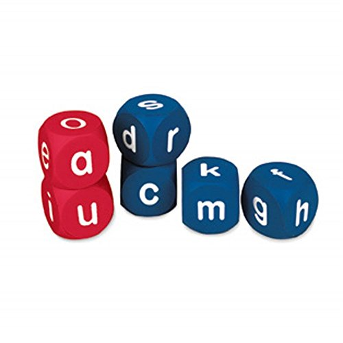 (Learning Resources Soft Foam Lowercase Alphabet Cubes, Set of 6)