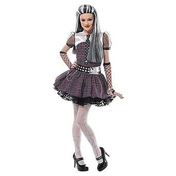Monster High Frankie Stein Costume Girls Medium 8 - 10