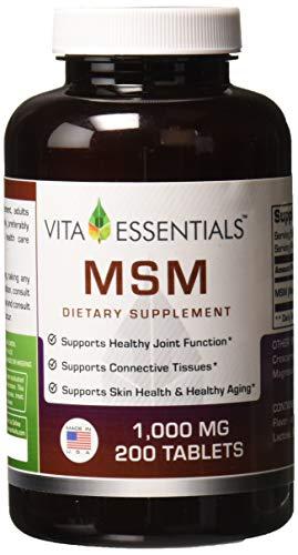 Most Popular MSM Dietary Supplement