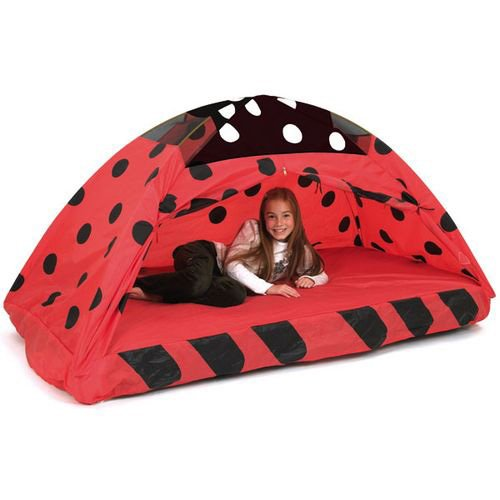 Pacific Play Tents Kids Lady Bug Bed Tent Playhouse - Twin Size  sc 1 st  Amazon.com & Kids Bed Tents: Amazon.com