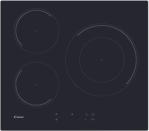 Opinión sobre Candy CID 633C Encimera inducción 60CM, Negro, 590x520x60